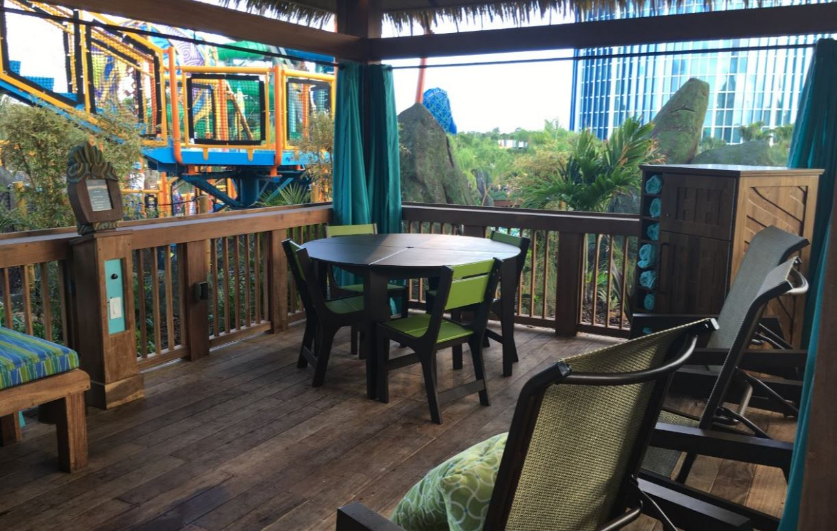 The family suite cabana