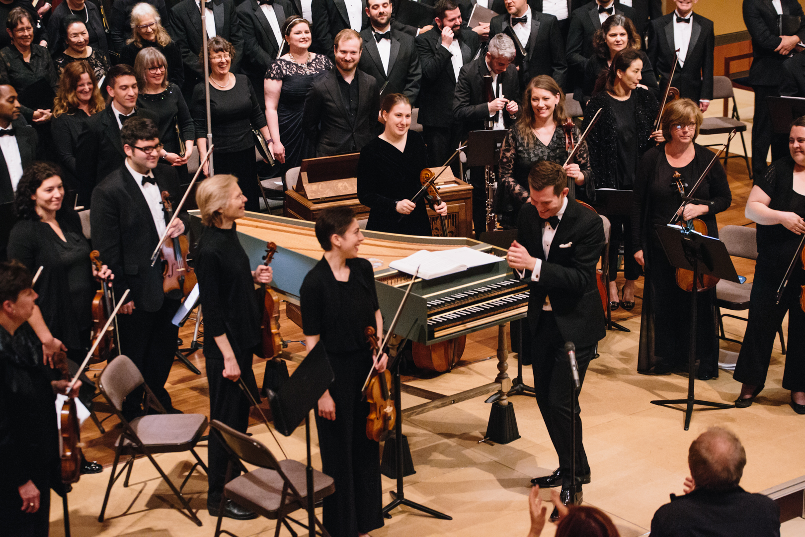 Bach's B minor Mass, May 2018
