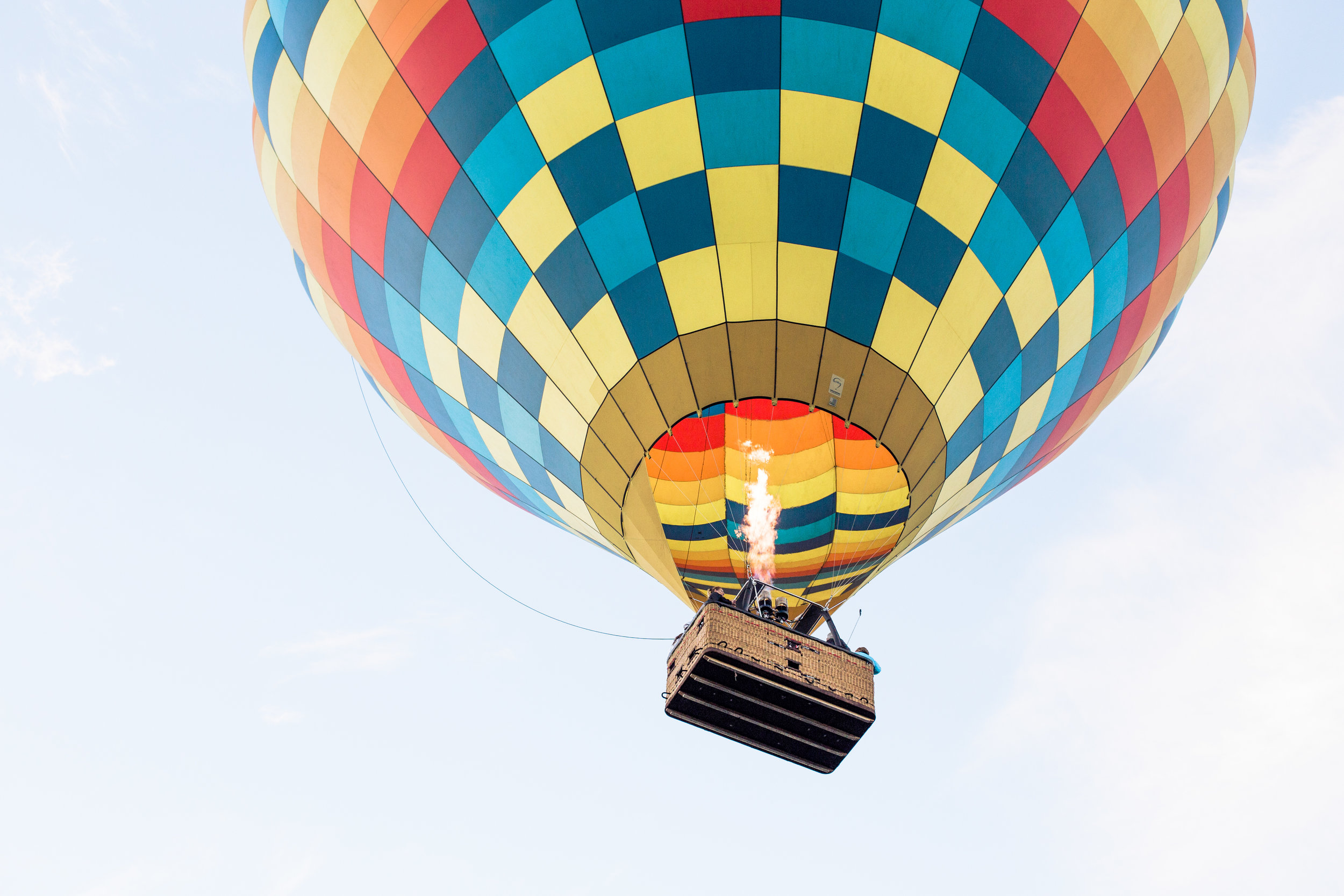 napa valley hot air balloon | from the pines to the vines