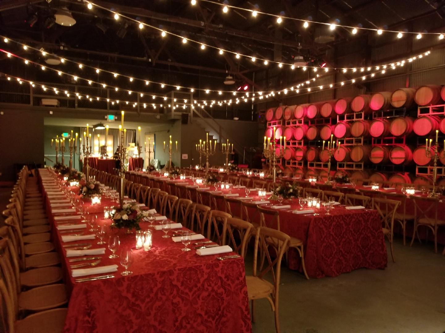 Formal Corporate Seated Dinner Event