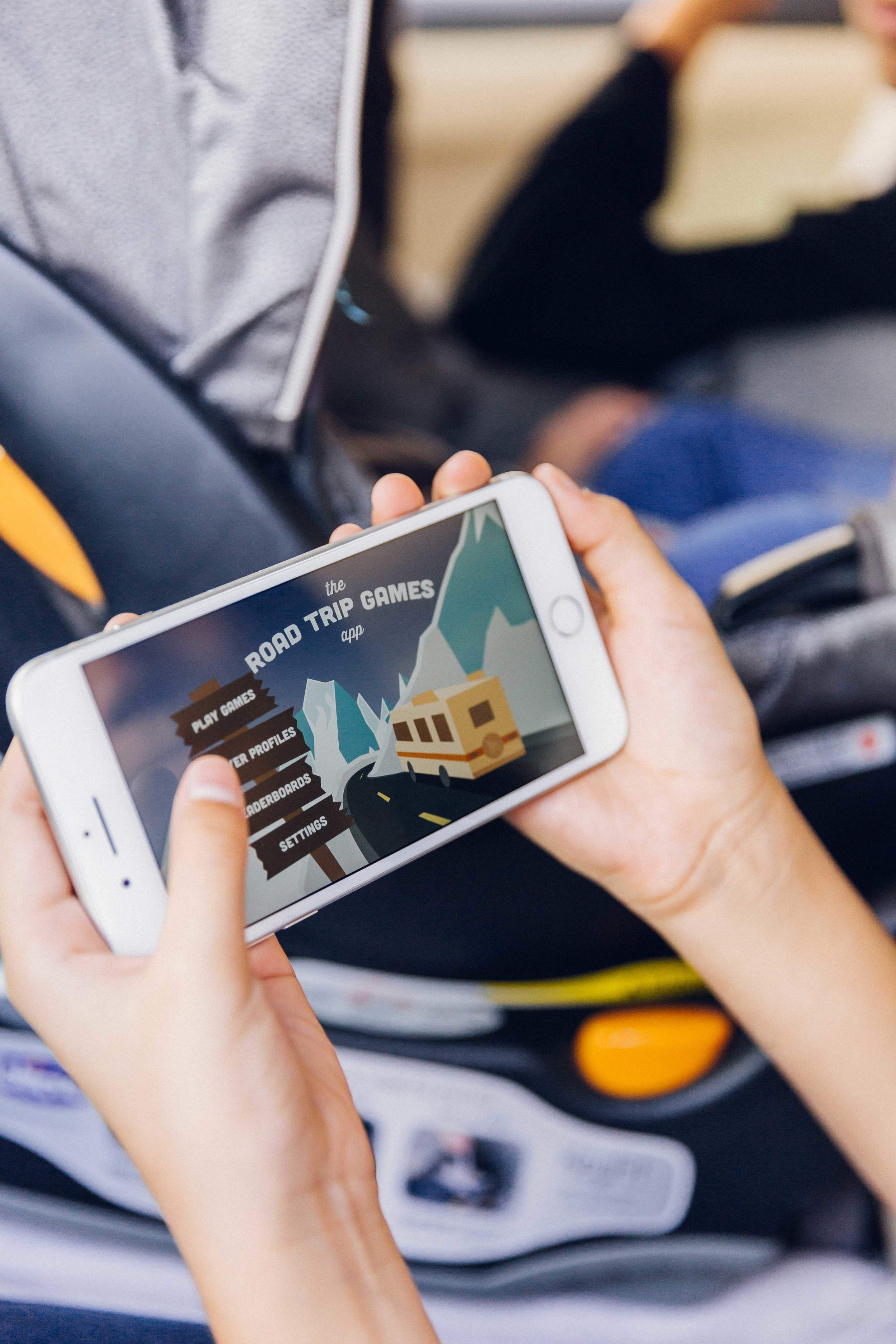 Shot for Road Trip Games App with Rogue Creative Development