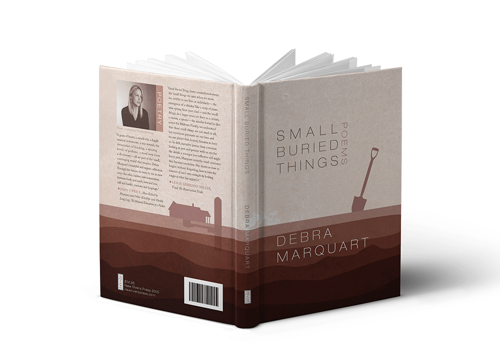 Small Buried Things Front and Back Cover