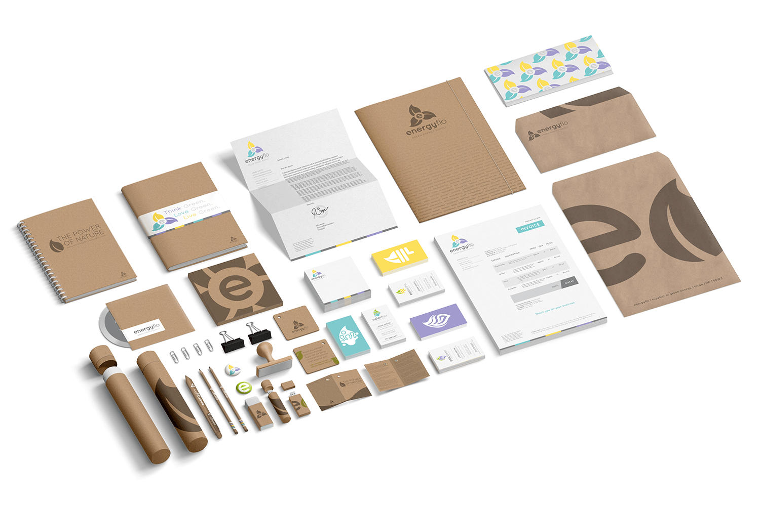 Energyflo Brand Collateral