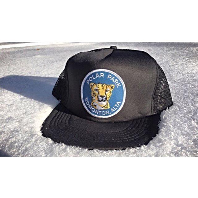 trucker hat circa 1980   available on our @albertaboostr (link in bio). #polarparkbrewing #YEG