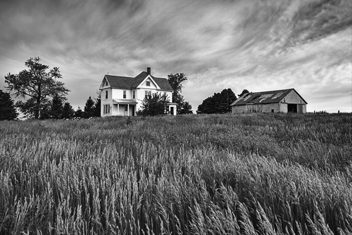 TRENT FOLTZ  - Geneseo, IL   House on the Hill   photography
