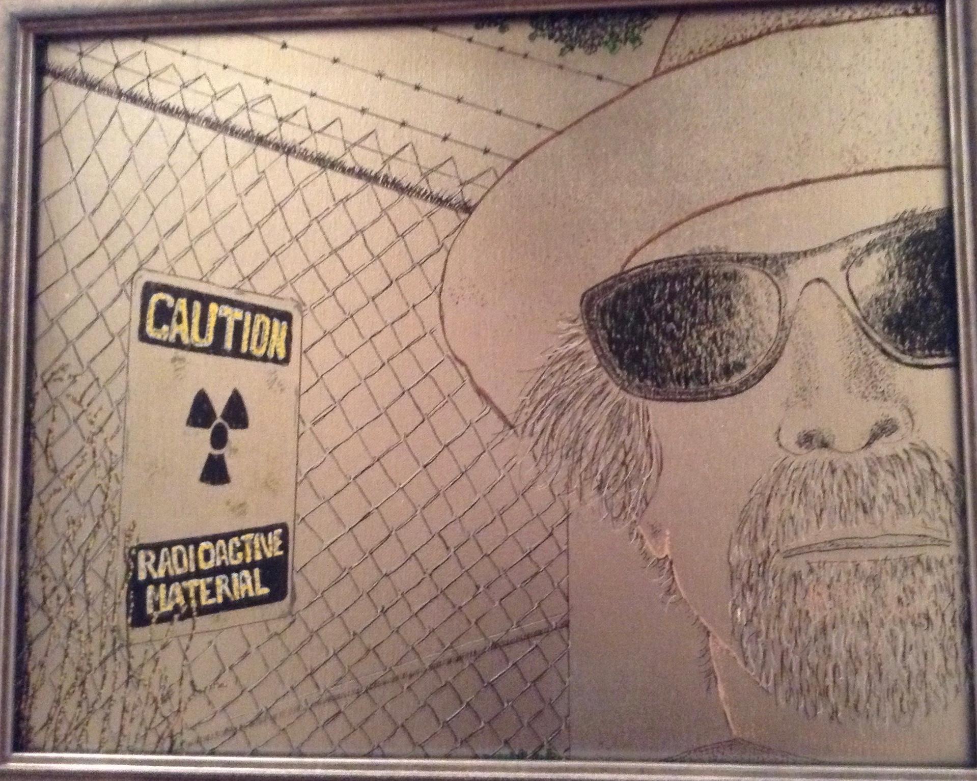 BRIAN ADAMS  - Santa Clara, CA   Half Life   spray paint, paint marker, $911