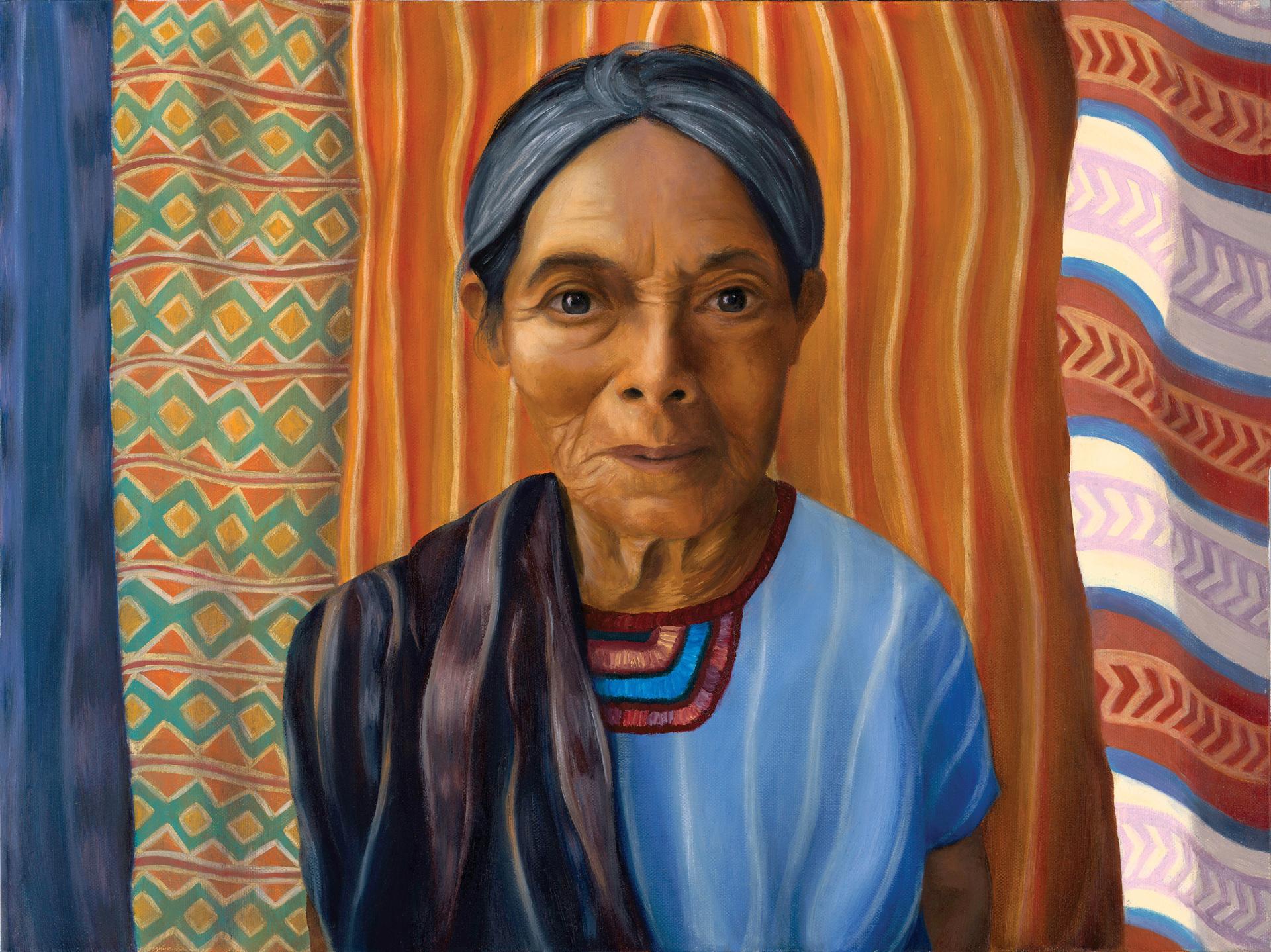EVIN LEEK  - Wilmington, NC   Luisa   oil on canvas, $2,800