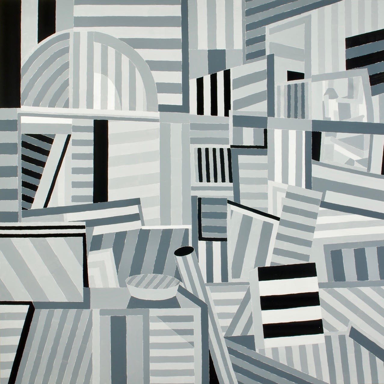 CARLA MARKWART  - Galesburg, IL   Thursday   acrylic on canvas, $2,000