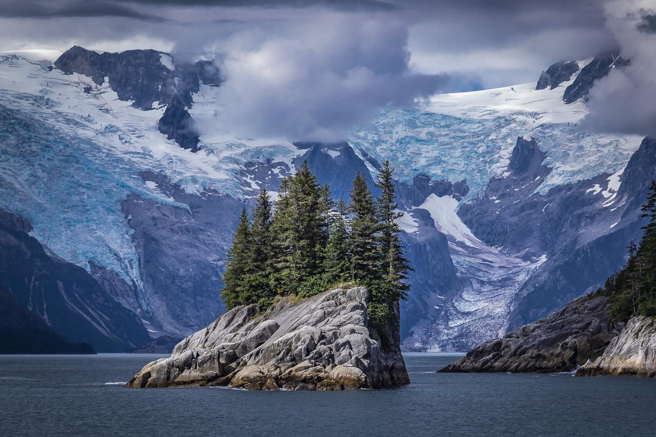 FRANK ZUREY  - Golden, CO   Anchor & Ogive Glaciers   photography, $970