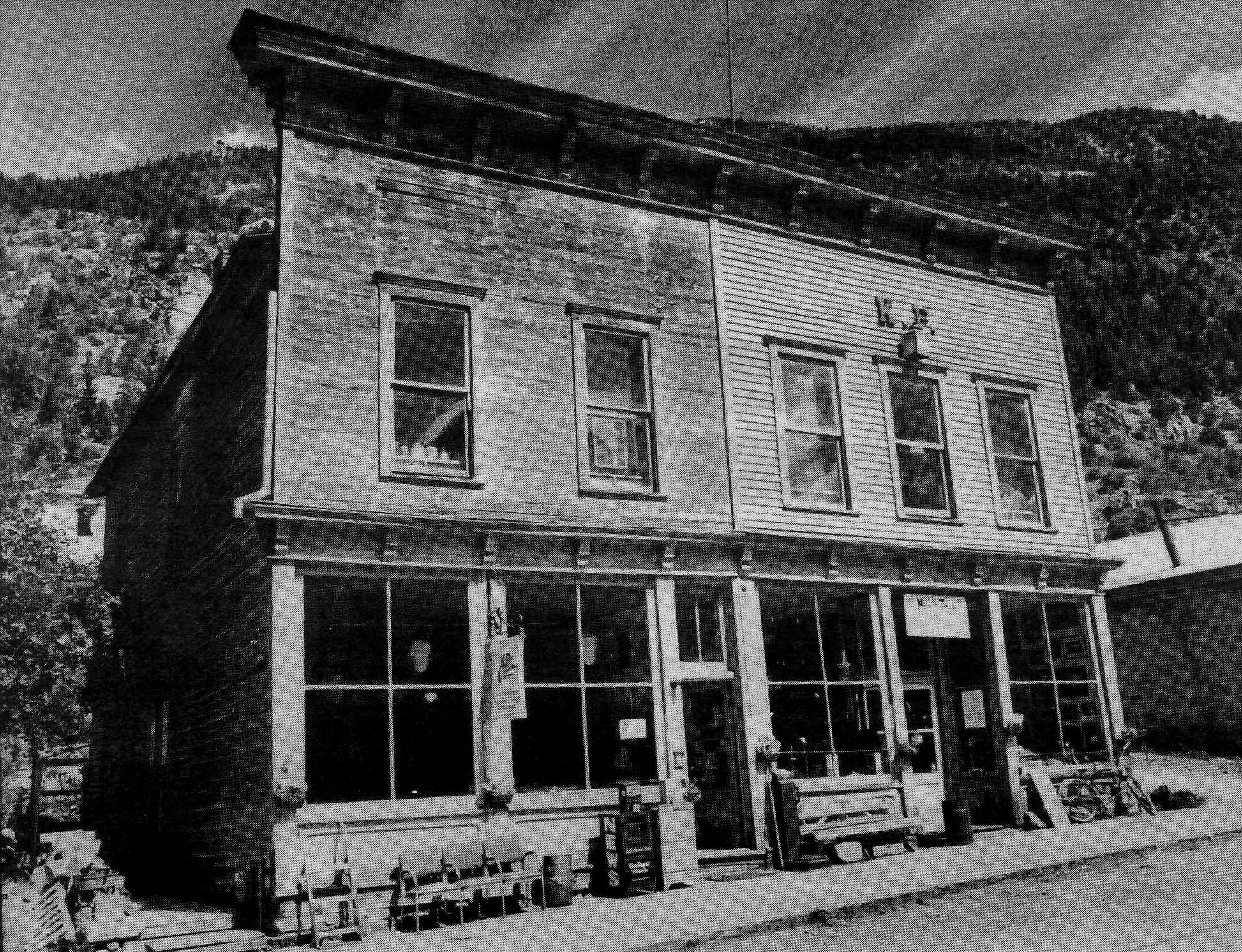 Keith Reinhard's abandoned antique shop in Silver Plume, Colorado - Courtesy of The Daily Herald