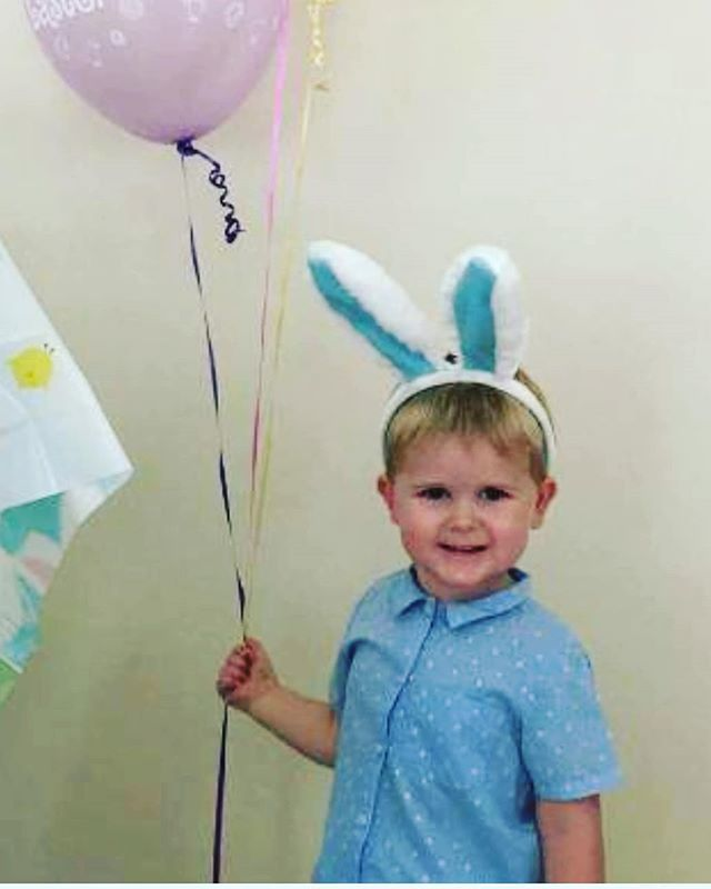 The cutest Easter bunny wearing Little Beau. Check out this gorgeous Pipellettes Shirt at www.littlebeau.com