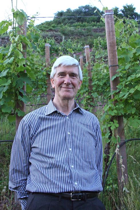 Casimiro Maule , enologist at Nino Negri
