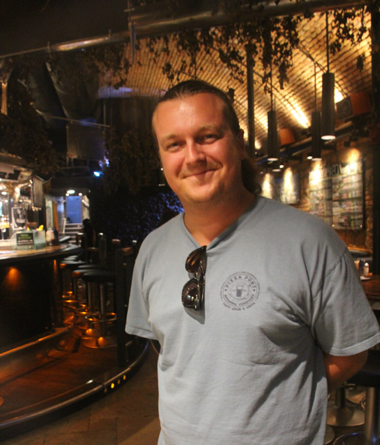 Alex Liberati, one of Rome's craft-brew pioneers