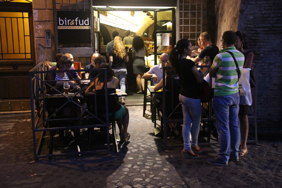 The scene at Bir+Fud