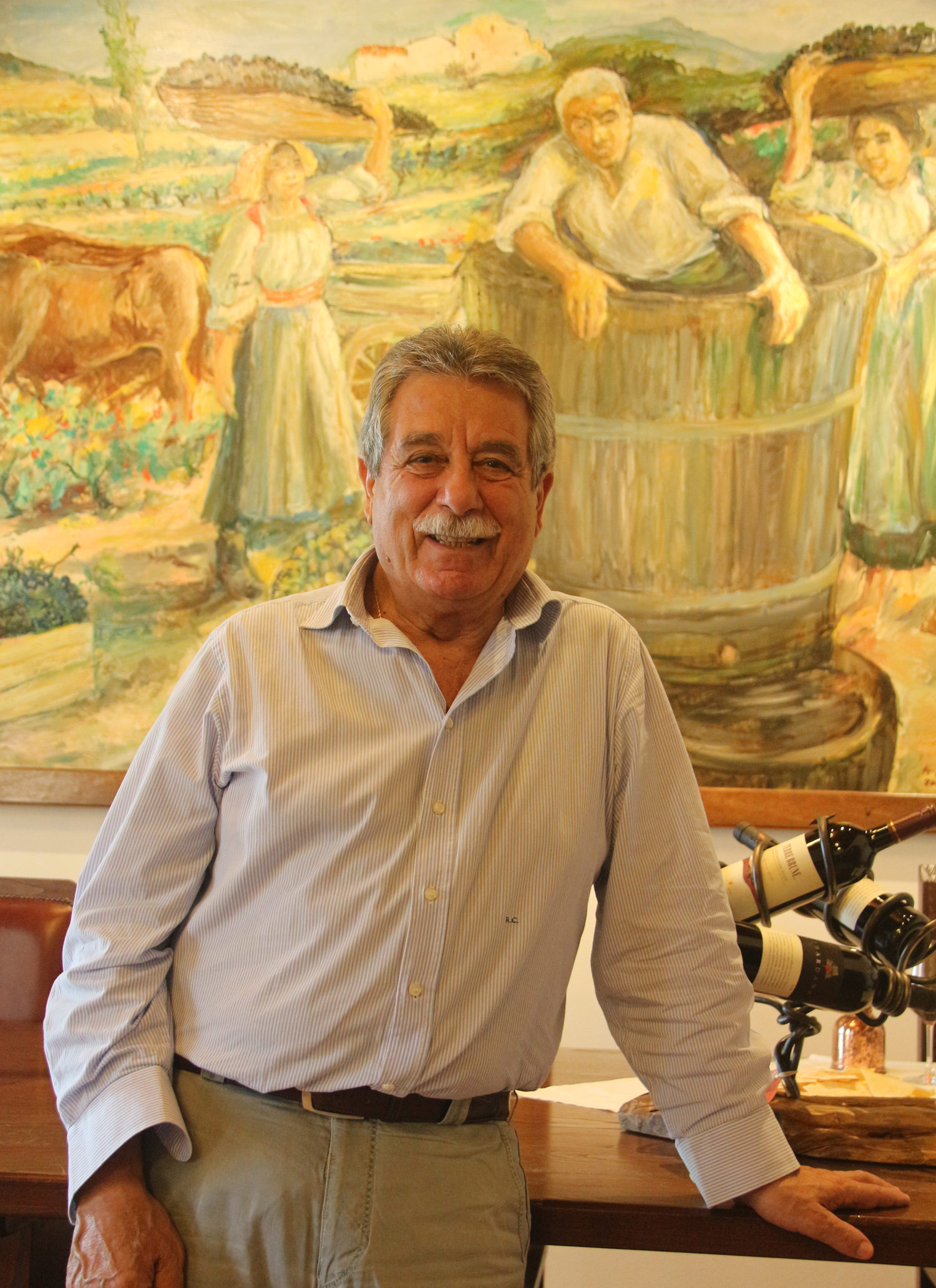 "My favorite interview was with Raffaele Cani, president of Cantina Santadi. Funny, passionate, and a good friend of Giacomo Tachis, he was full of tales. This was another interview done in Italian, and I'm proud to say I hung on just fine. Besides, how can you not love a man whose last name means ""dogs""?"