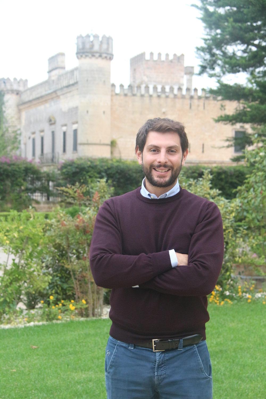 4th generation winery owner Luigi Seracca Guerrieri at Castello Monaci