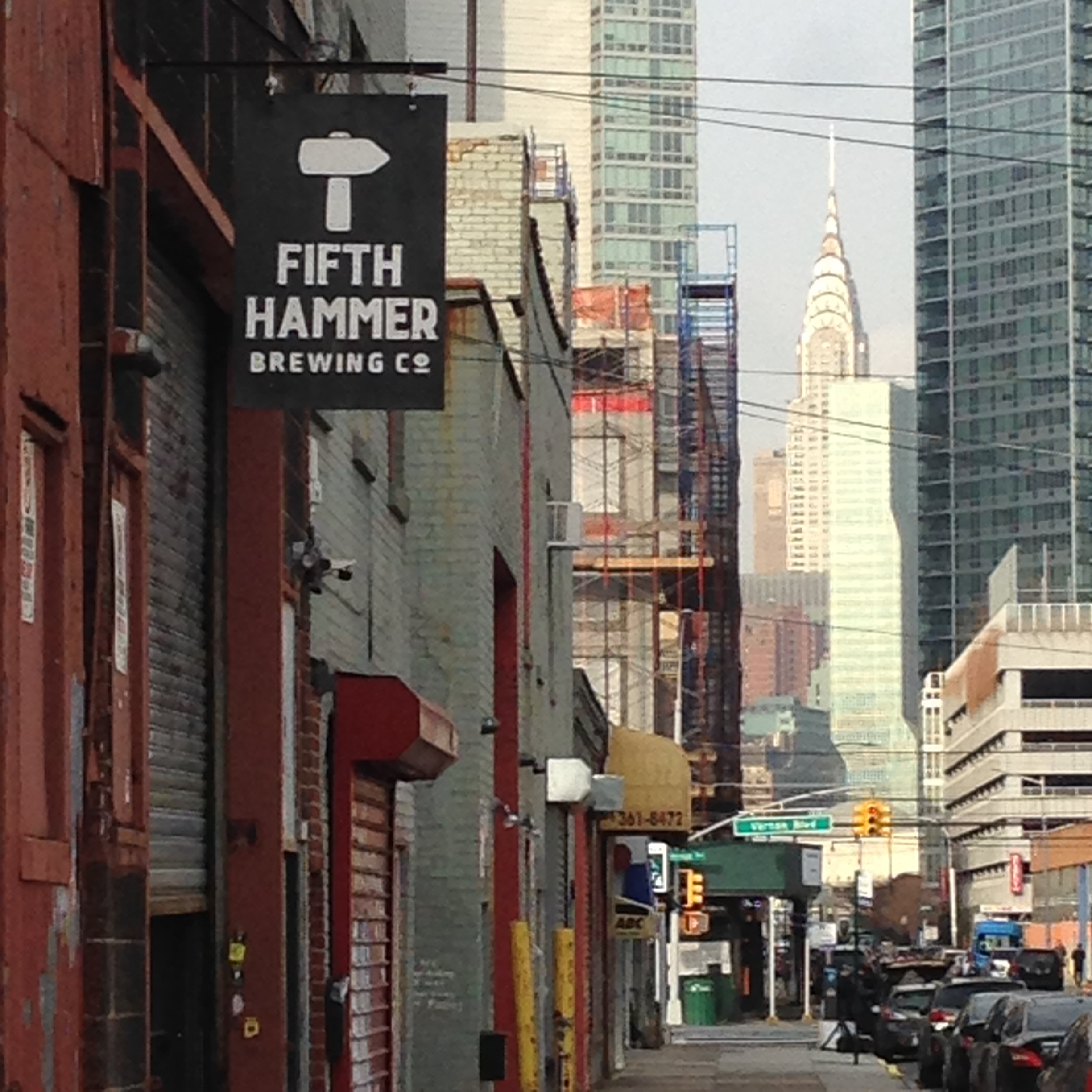The competition was held at Fifth Hammer in Long Island City.