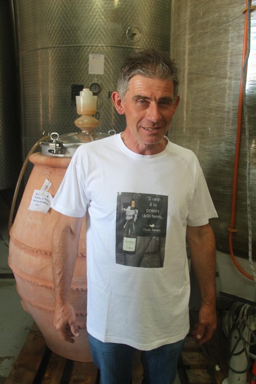 A wild and crazy guy: Claudio Mariotto