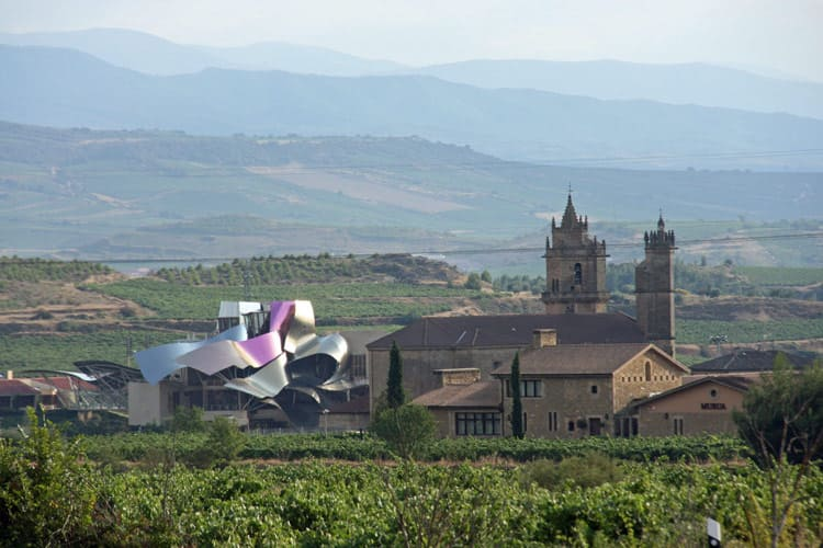 Marques de Riscal winery tour