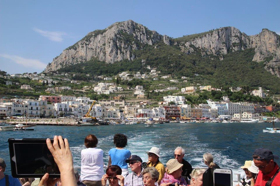 capri hiking tour