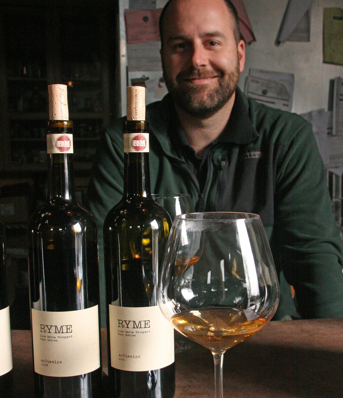 Ryan Glaab, who makes His & Hers Vermentino in Sonoma