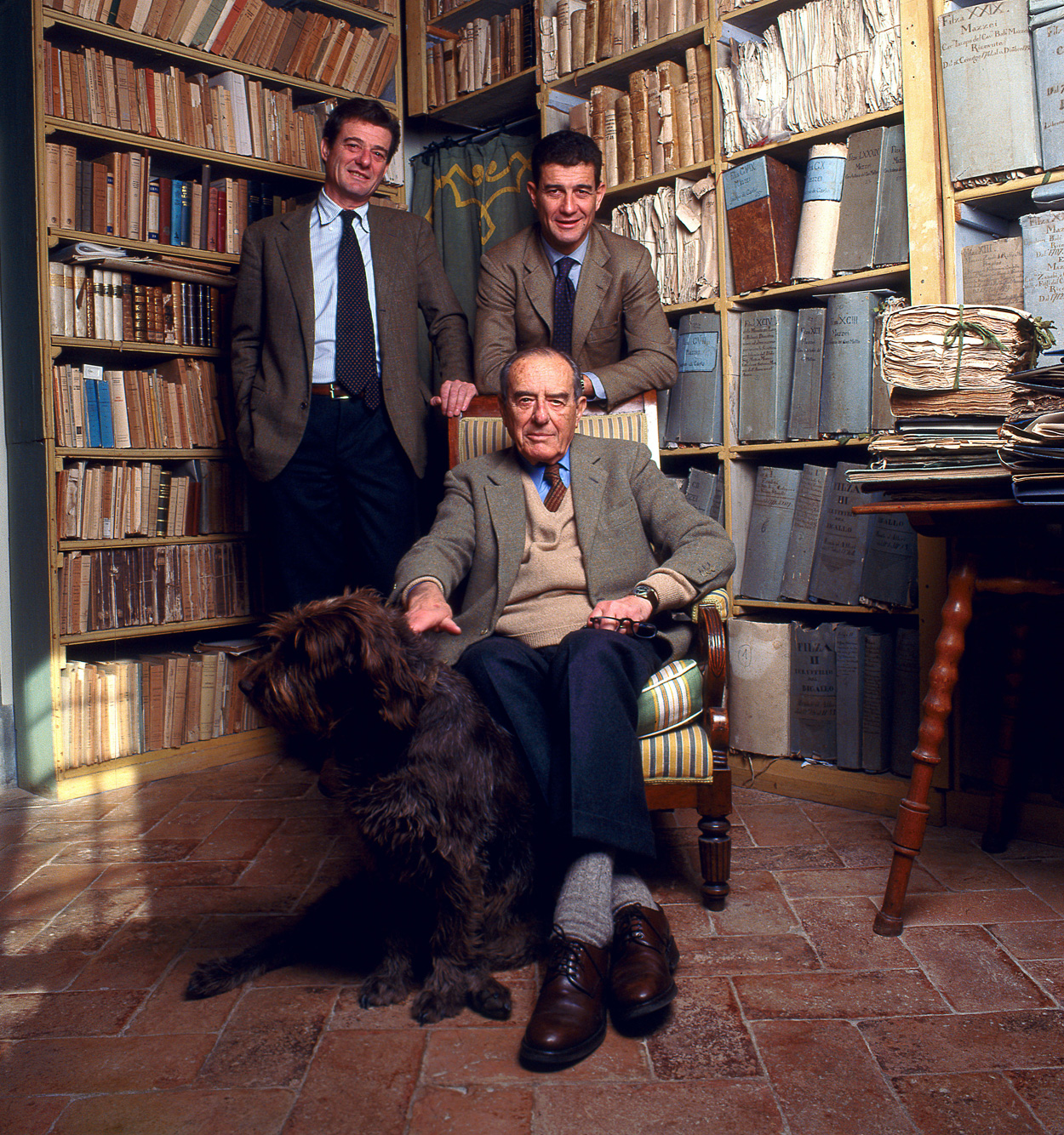 Filippo, Francesco, and Lapo Mazzei