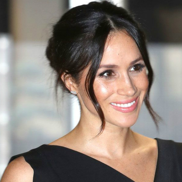 Meghan repairs damage with a restorative hair mask.