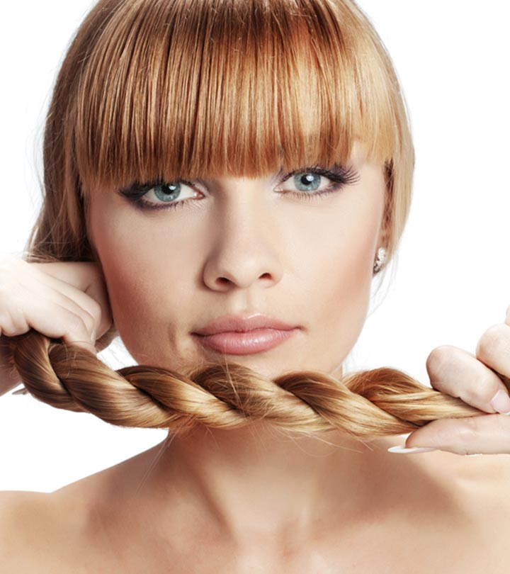 Protein hydrates and can help your hair grow stronger.
