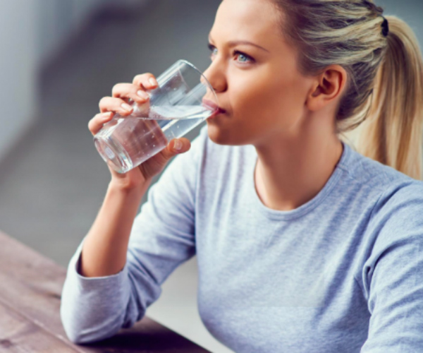 Drink water - Yeah yeah, we know it's boring but water really is one of the key ways to keep your body - and therefore you hair - hydrated.Not only will it have your hair shining and skin sparkling in no time, it'll help reduce hangover time, too.