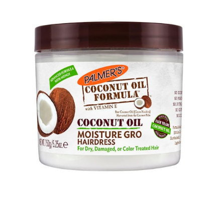 TRICK TWO: Coconut oil helps to coat the hair before a swim so that chlorine doesn't come into contact with it.