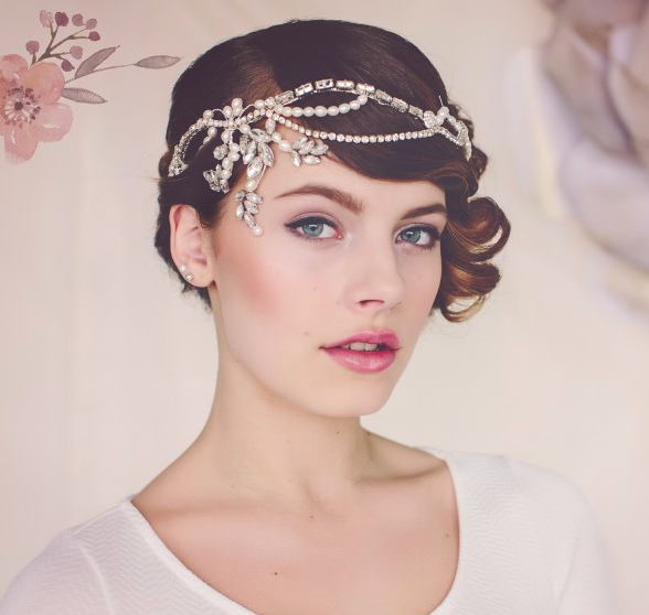 Norma 1920s flapper bridal headpiece - £195SHOP NOW