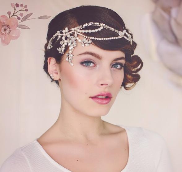 Norma 1920s flapper bridal headpiece - £195SHOP NOW