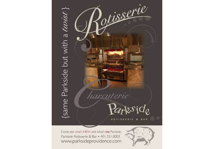 parkside rotisserie & bar • providence ri • branding