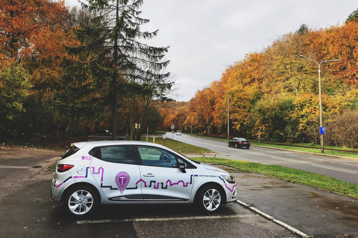 TRICITY -Last month,Gdynia, Sopot, and Gdańsk (or also known as a Tricity) started supporting the idea of car-sharing with  Traficar .And we're the 5th city in Poland to do so!