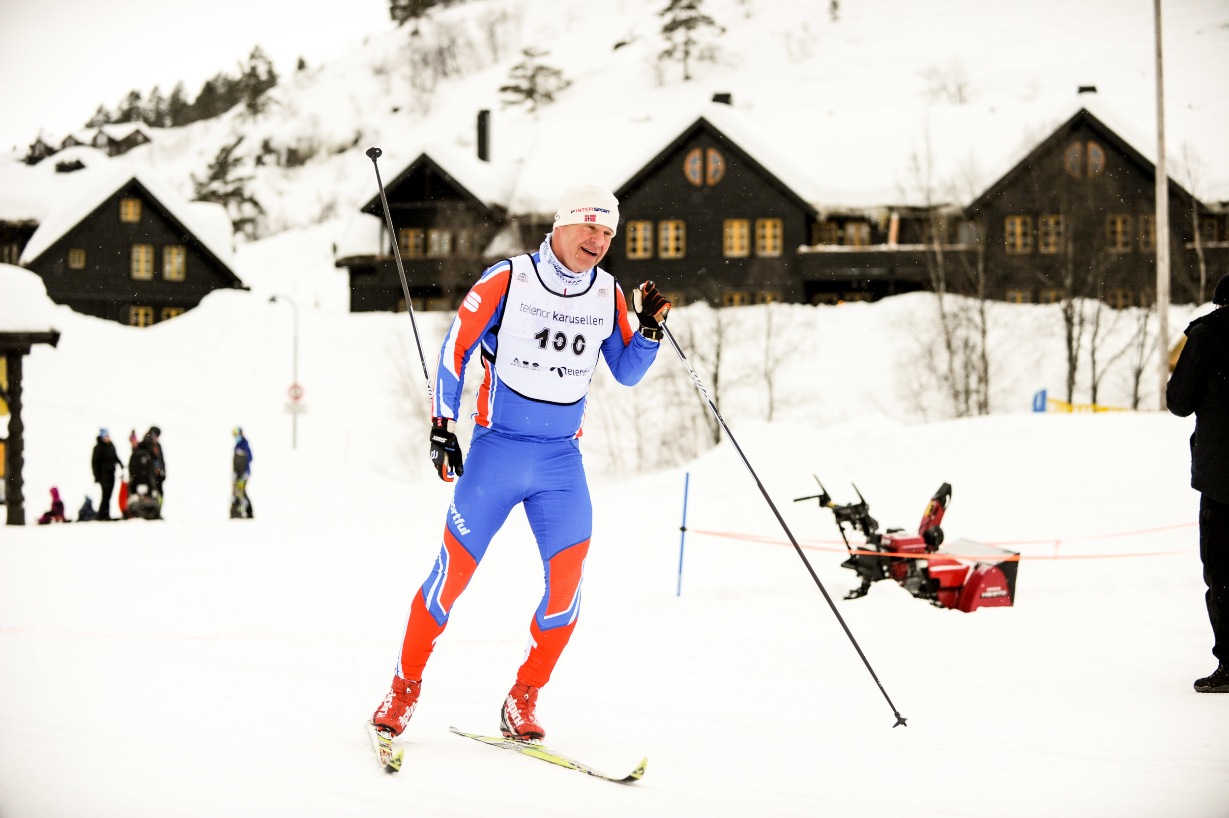 Vinner av Bortebeineren klassisk Bjørge Reiersen Foto: Espen sand/Lindesnes avis
