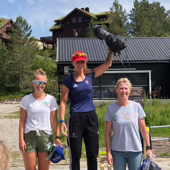 Vinner dameklassen ble Anita Valen fulgt av Ina Strømland og Siri Marit Aasland