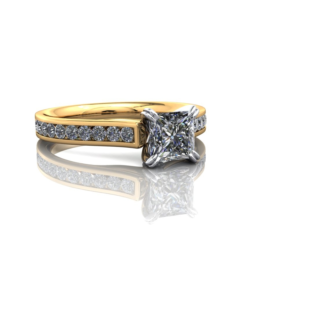 I quite it, how about square diamonds in band? -