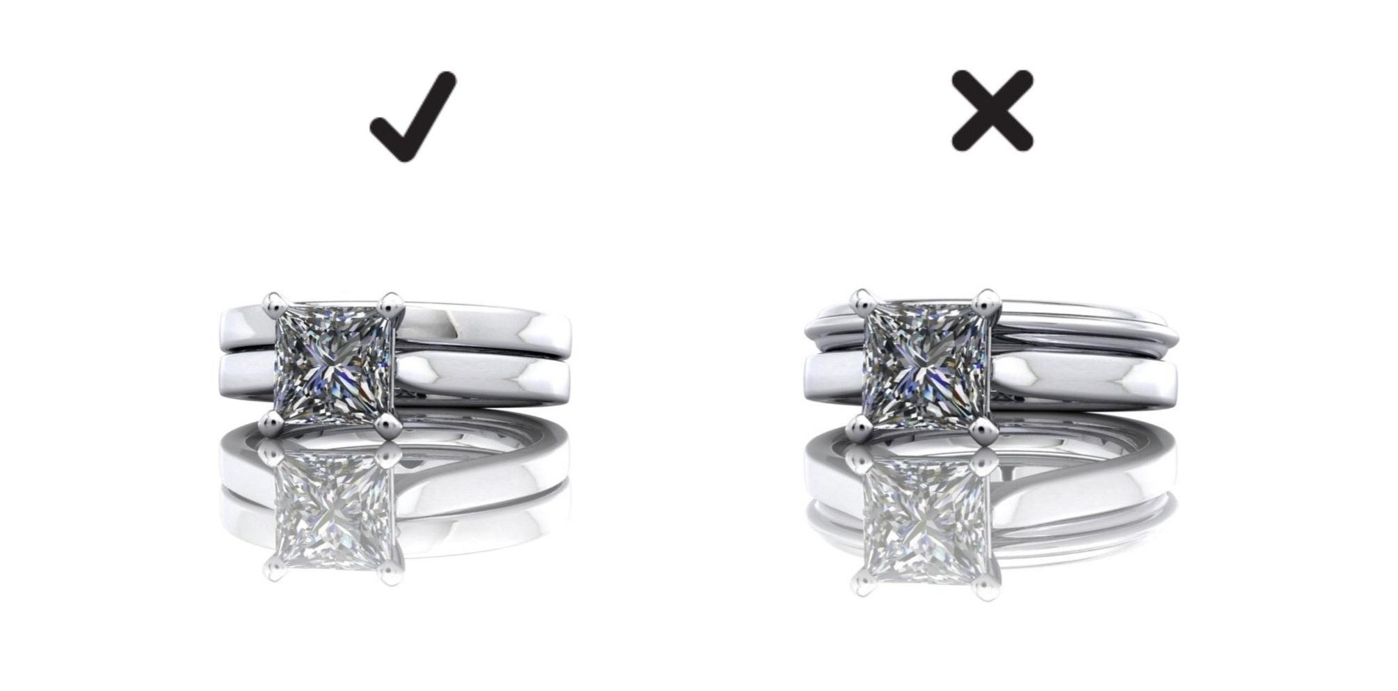 Matching wedding rings