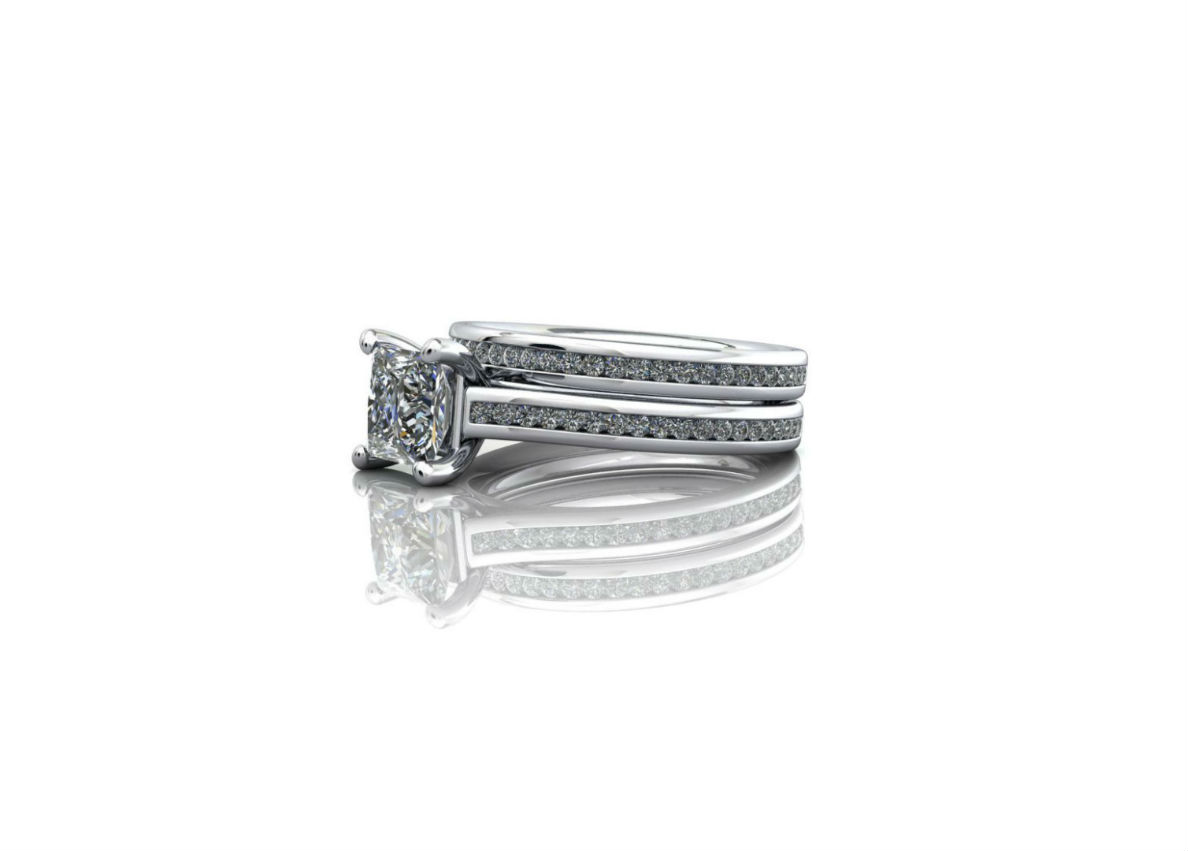Perfectly matching wedding ring