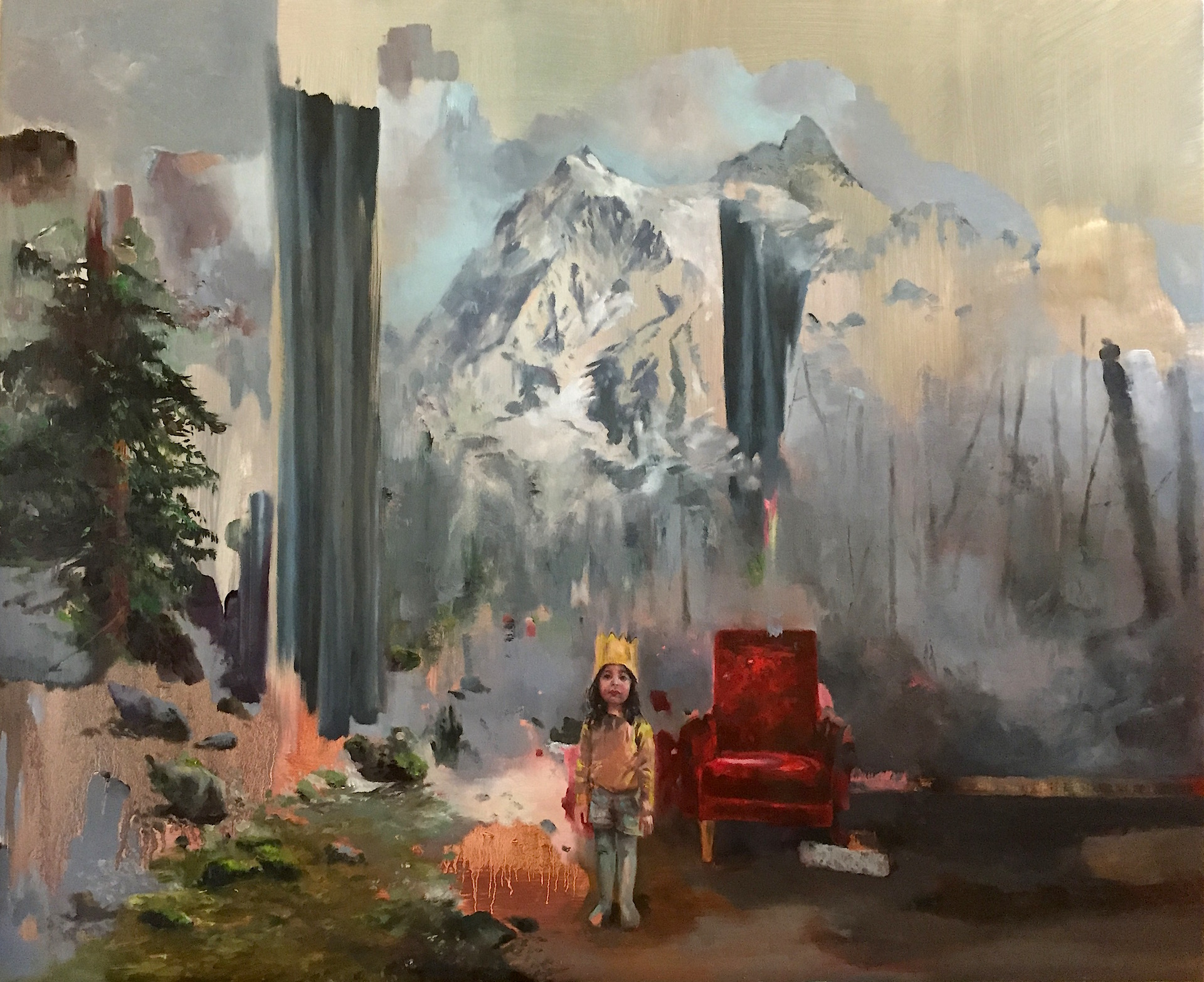 Behind the curtain 2017 Oil on canvas 60x50.JPG