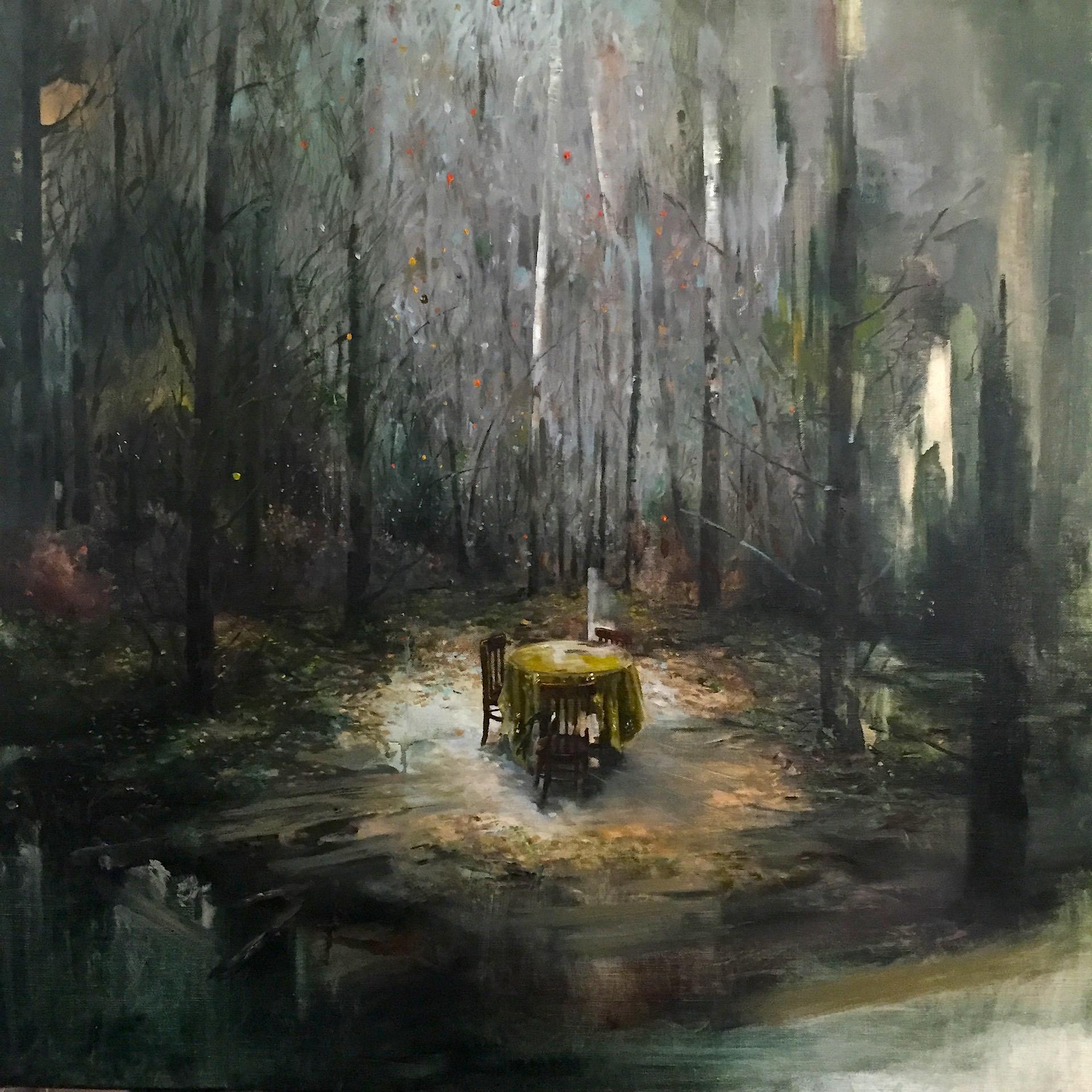 Forestation, 2016, Oil on canvas 80X80.JPG