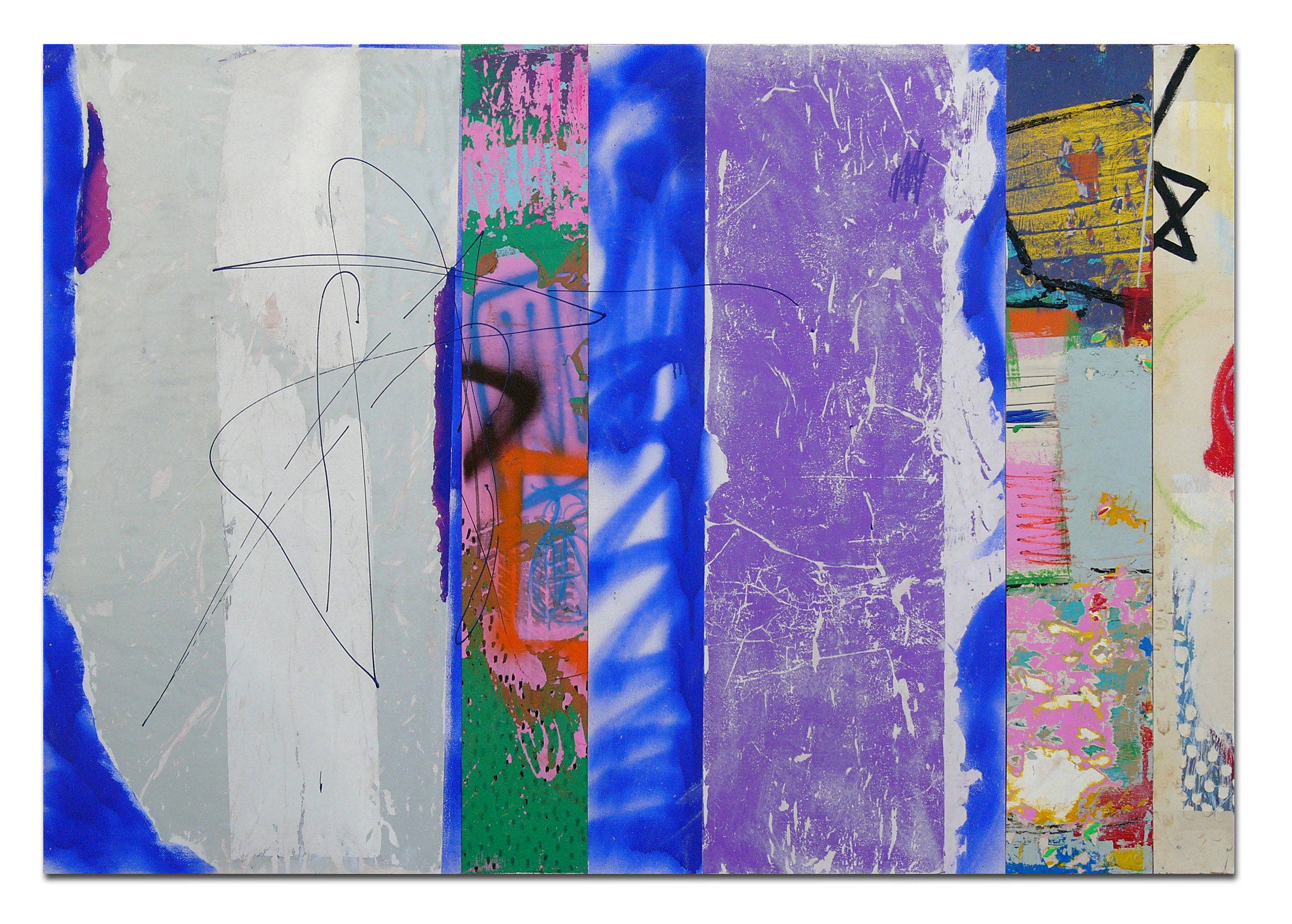 CANDEart_BobCy Street_2017_multimedia painting with image transfer on multipanel_48x68.5in(122x174cm).jpg