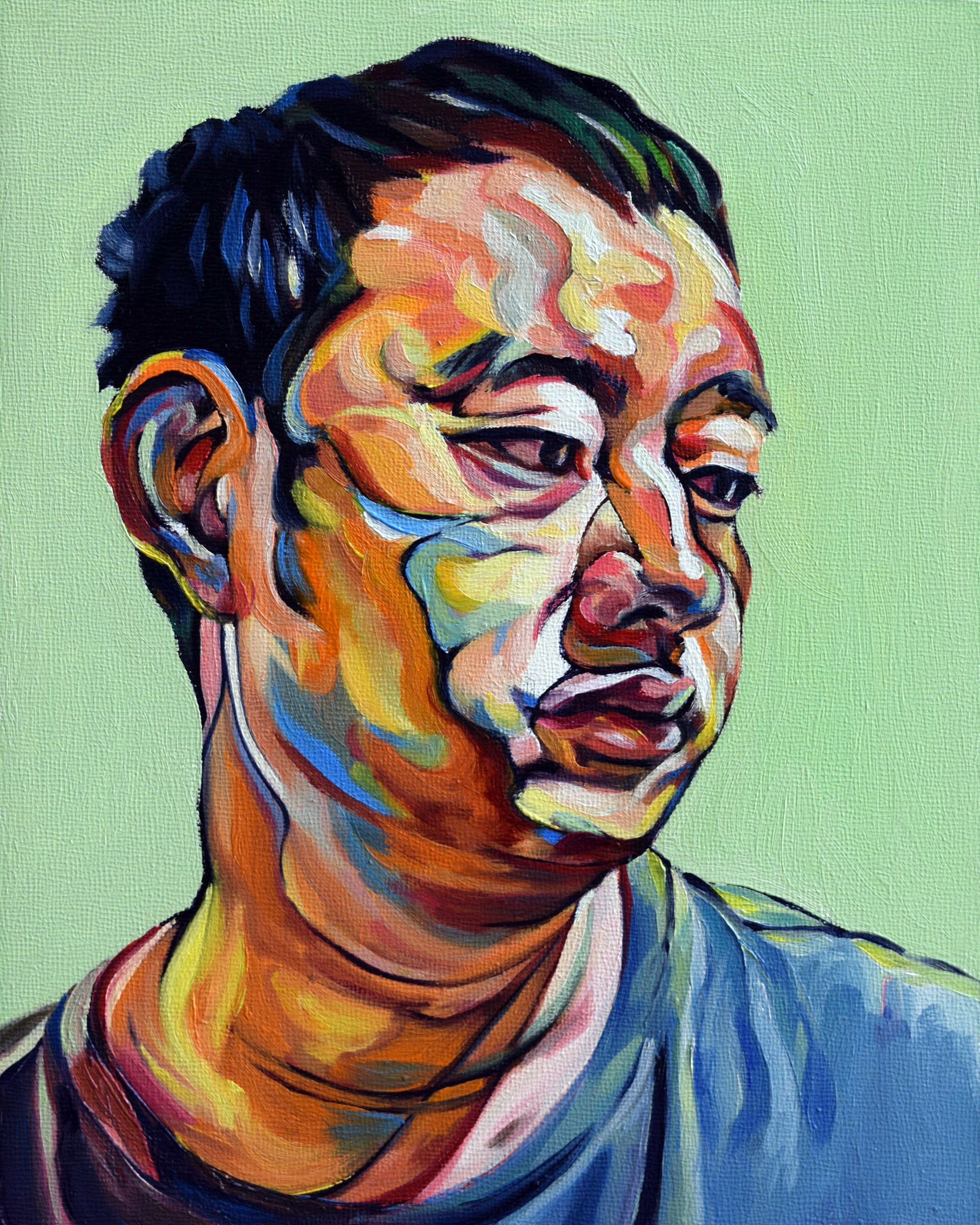 Qing_Song_Green_OilonWoodPanel_10x8.jpg