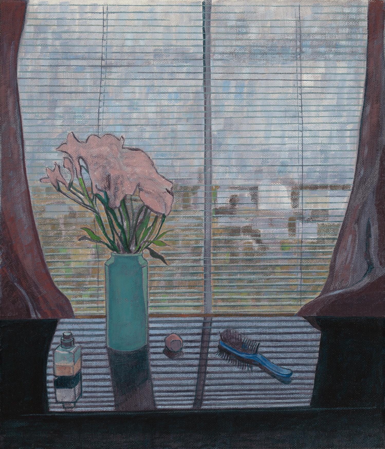 11. Dayan Jesse, 'Mid Afternoon', 35x30cm, Oil on Linen, 2017.jpg