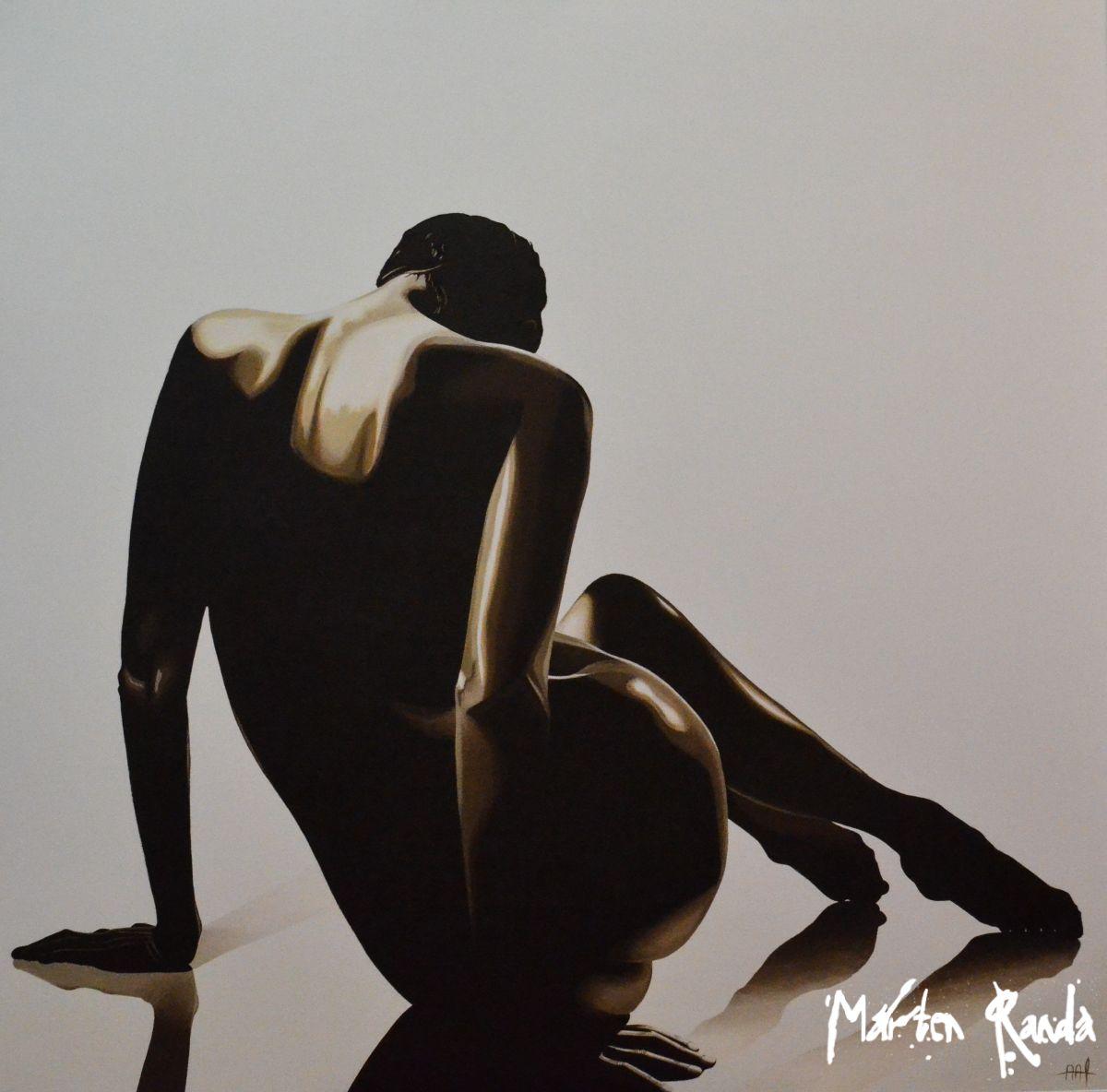Galerie Marten Randa, Aaf Pierik, Vrouw op spiegel.jpg