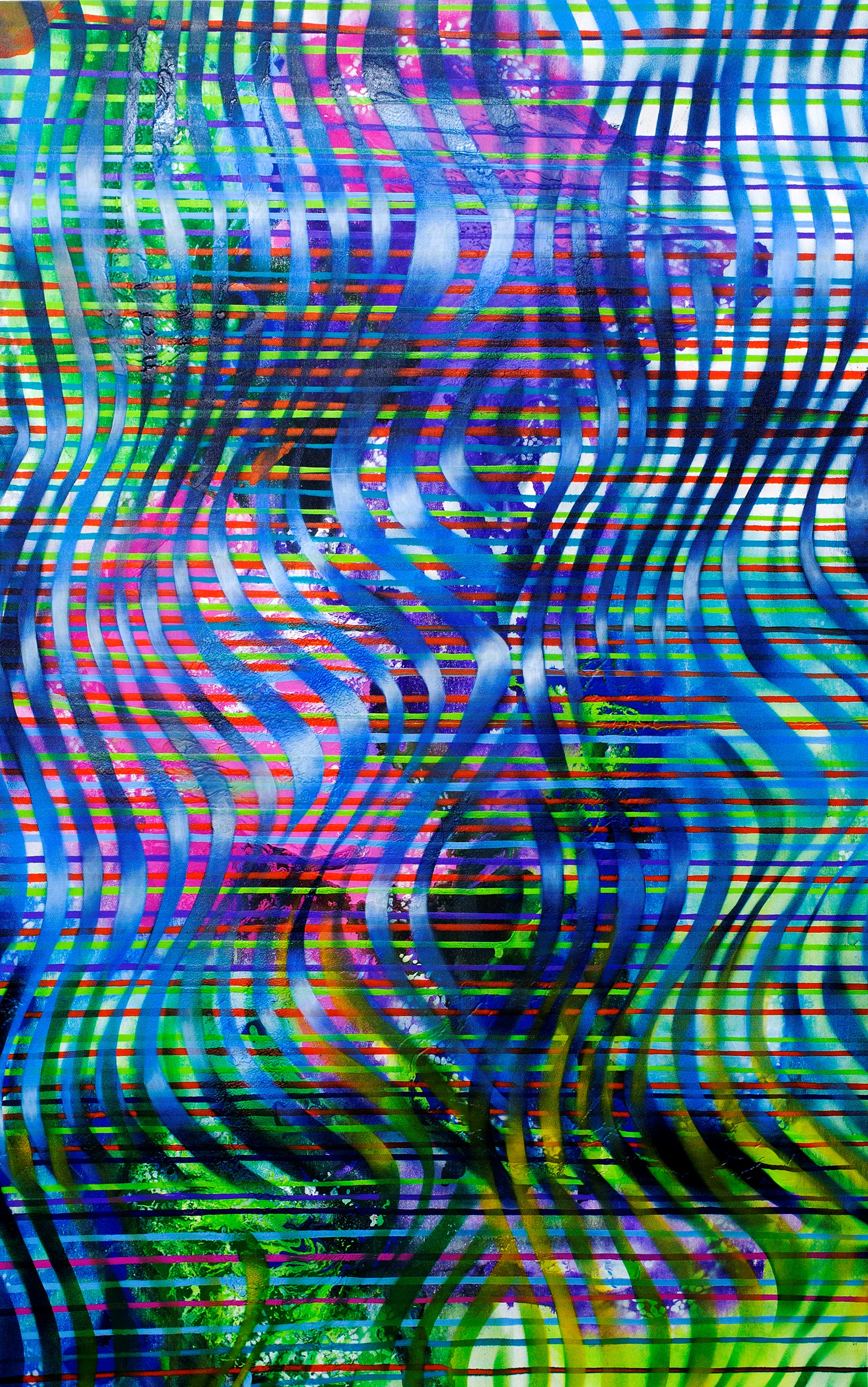 Mariu_F._Lacayo_WAVE_MIRRORS_mixed_media_on_canvas135_x_83_cm._2017.jpg