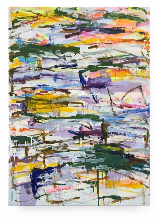 KIKUO SAITO , Kikuo Saito,  Blueher , 2014, oil on canvas, 66.75 x 47.5 in