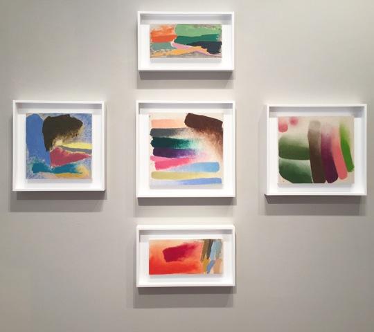 Friedel Dzubas sketches on view at ArtMiami