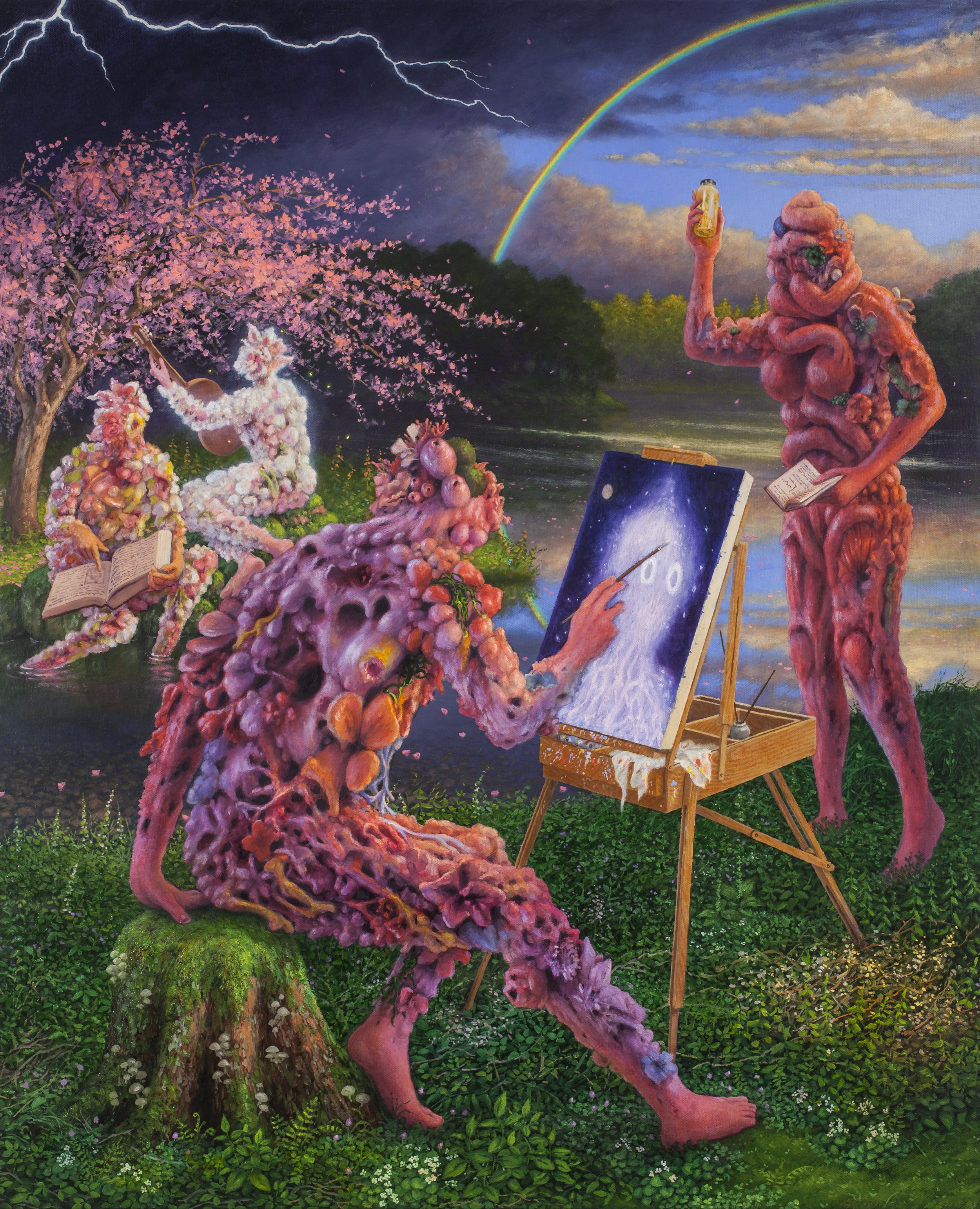Adrian Cox 'Painter with Spectral Vision'.jpg
