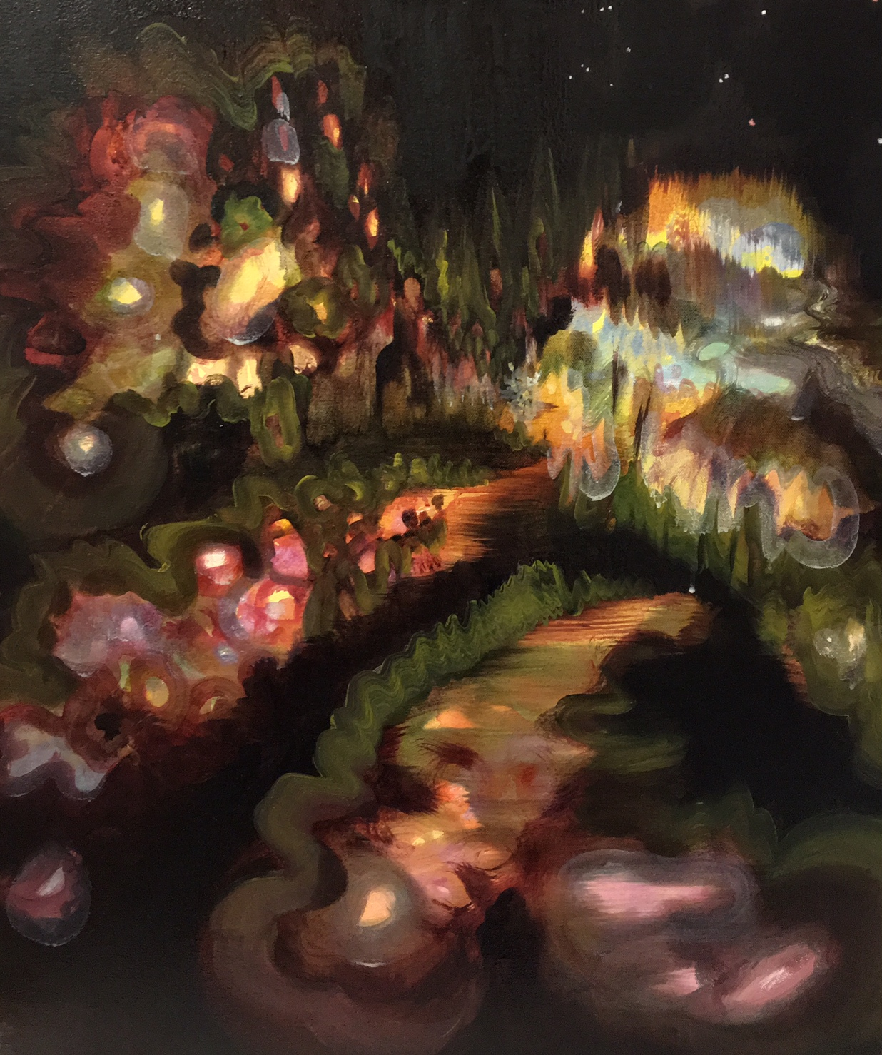 Work 2, New Brunswick Botanical Garden, oil on canvas, 2017.jpg